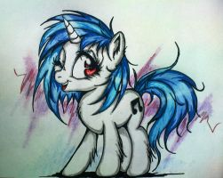 Vinyl Scratch by Tomek2289