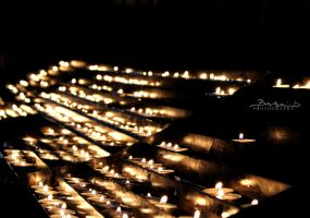 Light A Candle by ikyca
