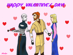 Happy Valentine's Day!! by Ahsokixu