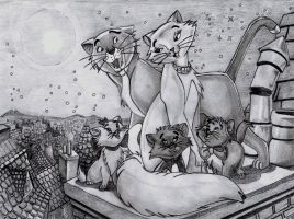Aristocats by bibolovesgenesis