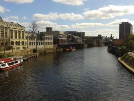 River Ouse by BluebottleFlyer