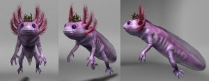 Axolotl King Texture 2 by rwcombs