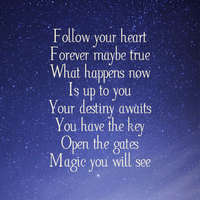 Follow your heart by Words-from-my-Soul