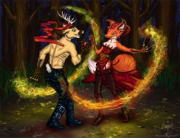 Persephone: Reign of Fire by FOXANDLIBERTY