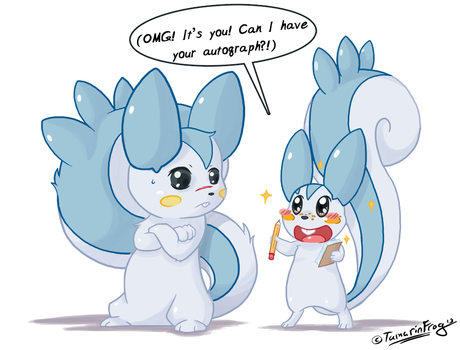 RD - Fanboy by TamarinFrog