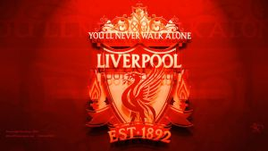Liverpool FC in 3D Red version by kitster29
