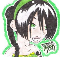 15 year old toph by gamergrl