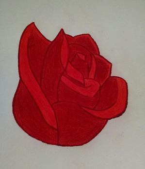 The Red Rose by animedugan