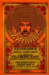 Jimi Hendrix Fillmore East by ArtCovers