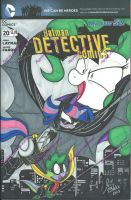 Detective Sketc hCover by PonyGoddess