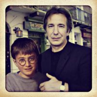 Harry and Snape in London by PeaceRevolution22