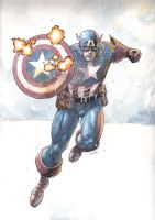 captain america 2 by leinilyu