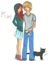 Jace and Clary by Annabeth590