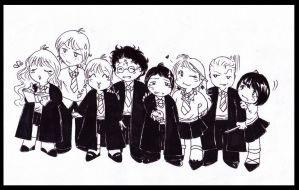 HP - Little Cute Group XD by Nachan