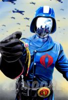 Cobra Commander - by AJ Moore by GudFit