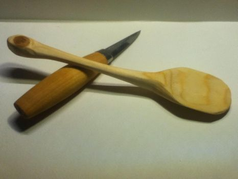 my first homemade spoon pic 5 by floris-tim