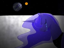 Luna Eclipsed by darkstarr48