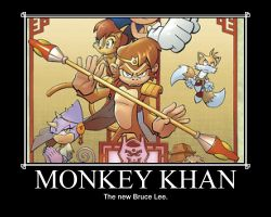 Monkey Khan motivator by DarkRisingStuff