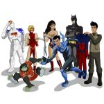 Generator Rex/Young Justice by SunBinamra