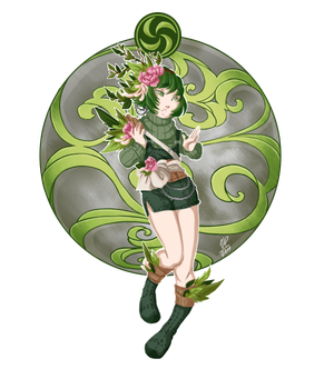 OoT Sages : Saria by Ushimipan