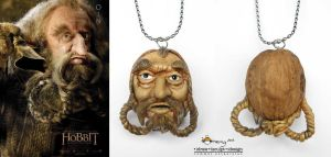 Oin the Dwarf Walnut pendant by Dinuguan