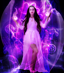 White Magic Witch by MysticSerenity