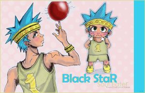 Black Star The All Star by BlackStar-FC