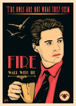 fire walk with me #2 by JimSuperfly