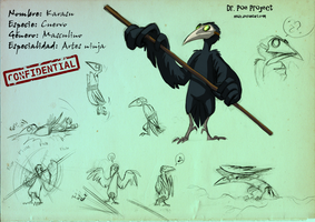 Dr. Poe's Files: Karasu by Hndz