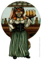 Bar Wench by katarina
