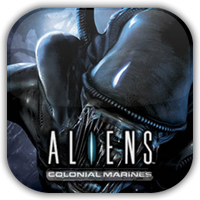 Aliens Colonial Mar. Game Icon by Wolfangraul
