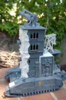 Nurgle Plague Tower - Side by TYKMauro