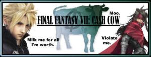 Final Fantasy VII: Cash Cow by immortalmint