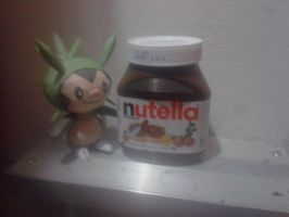 chespin papercraft and nutella uwu by javierini