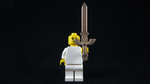 3D Printed LEGO Master Sword by mingles