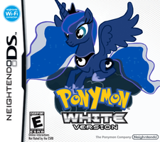 Ponymon White by nickyv917