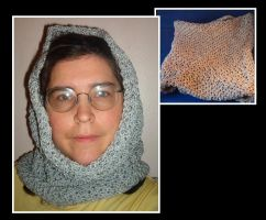 cowl-neckwarmer by Glori305