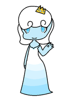 ice queen slime by XxOrangeswirlxX