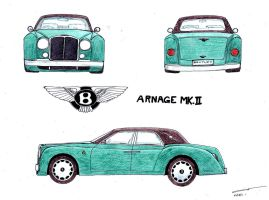 Bentley Arnage MkII Concept by TwistedMethodDan