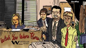 the Office coloured by kazzer-doom
