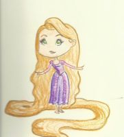 Rapunzel by psychoviolinist1012