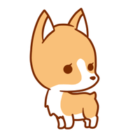 Corgi Sticker by xNekorux