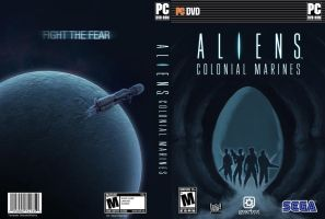 Aliens: Colonial Marines custom cover by Newbeing