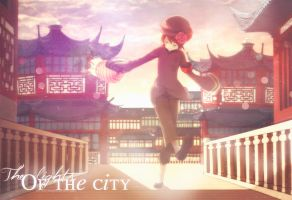 Wallpaper - The Light Of The City by MayDaydream