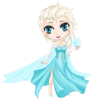 Just Let It Go: Elsa by MiraiParasol