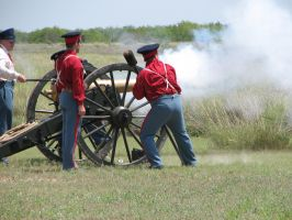 US 6lber Cannon Firing 2 by Like--A--Fox