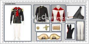 Final Fantasy Type 0 Trey Cosplay Costume by miccostumes