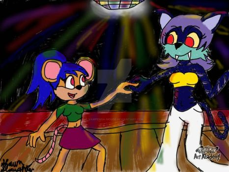 Disco Fever by Vampenga-Mouse