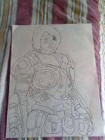SAM GEARS OF WAR 3 by AngelCARMINE