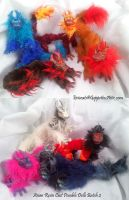 Asian Dragon Resin Cast Dolls Batch 2 by Eviecats